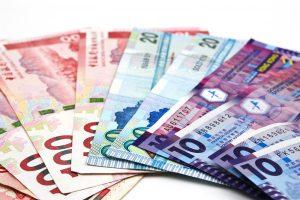 Hong Kong Dollar Bank Note. Hong Kong Dollar Is The National Cur